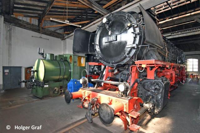 Das Bayerische Eisenbahnmuseum öffnet wieder seine Tore