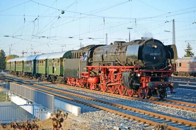 Mit dem Dampfzug im Juni ins Fränkische Seenland bzw. ins Bayerische Eisenbahnmuseum